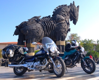 The 'Horse of Troy' in Canakkale