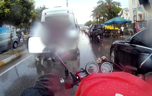 Dont worry, we also have our rainy riding days.